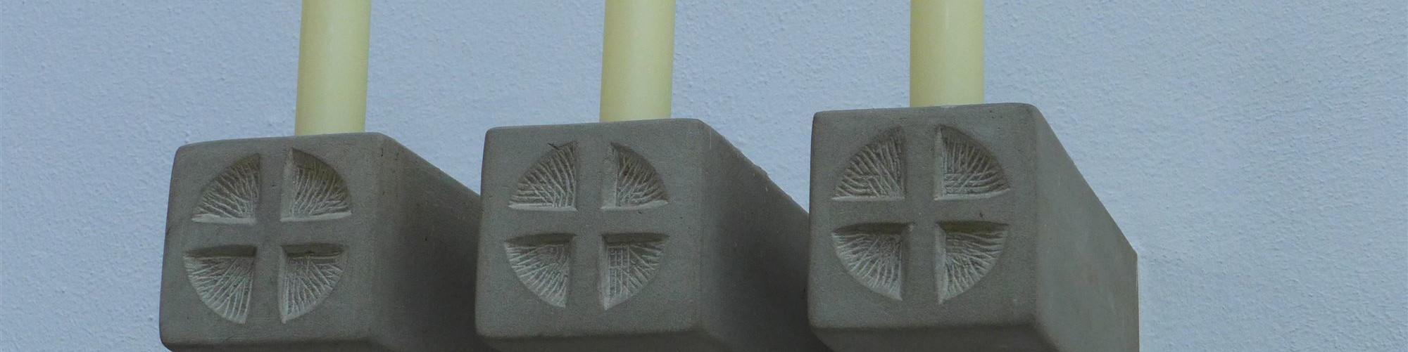 Kirche Oberwerrn - Apostelleuchter-sld